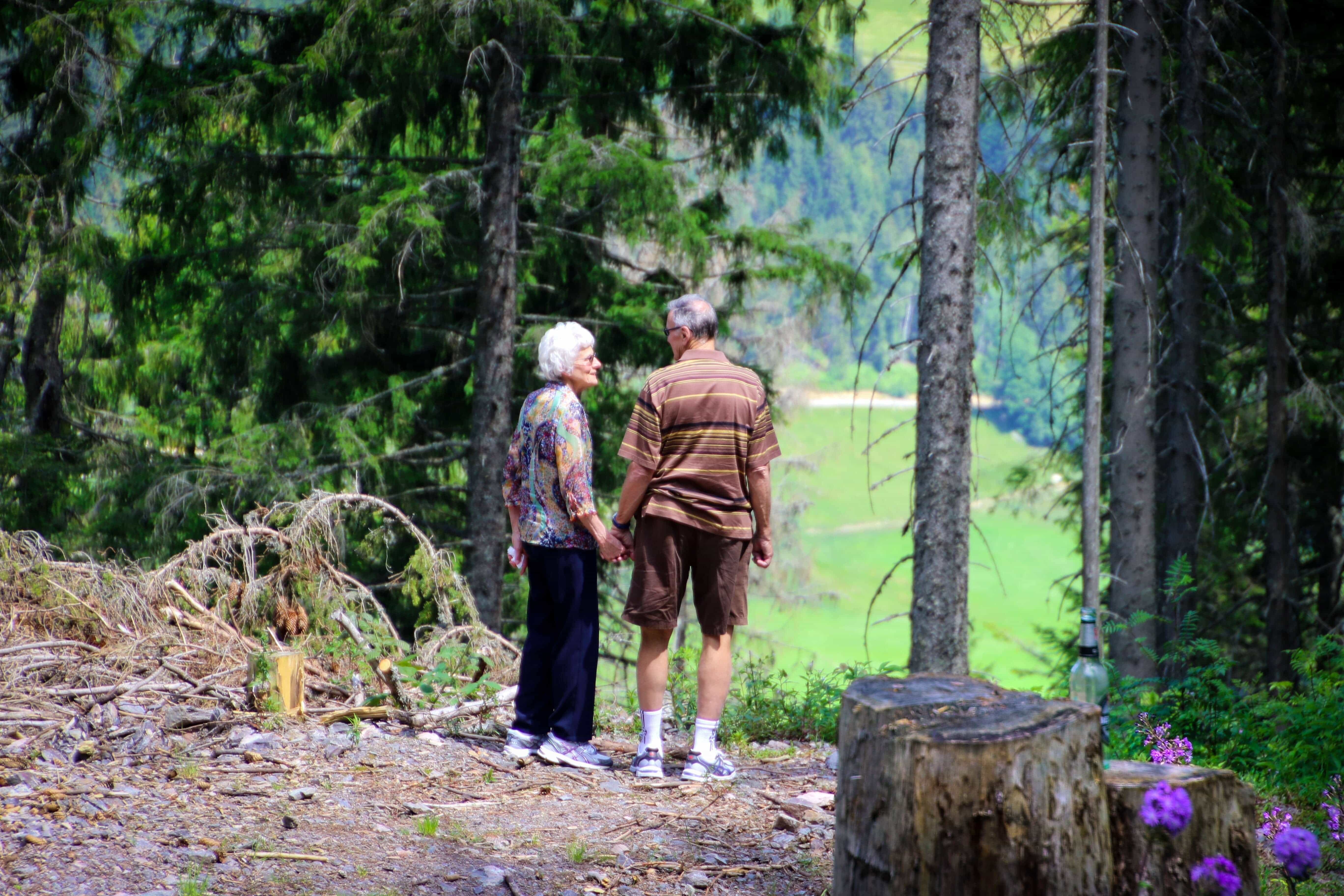 Old couple in Retirement